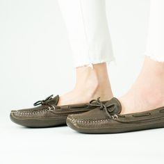 Womens Bull Hide Deerskin Lined Triple Sole Canoe Moc Buy Shoes, Dress Shoes, Walking Barefoot, Driving Moccasins, Leather Moccasins, Deer Skin, American Made, Canoe, Comfortable Shoes