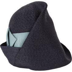 Beautiful cloche hat by Albertus Swanepoel.