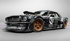 Custom-built 845 hp, AWD, 1965 Ford Mustang Hoonigan RTR | Diseno-art