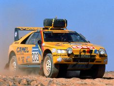 1988 Peugeot 405 Paris-Dakar Rally Car