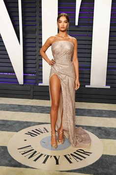 Shanina Shaik Red Carpet Style