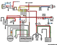 HONDA       CB350    SIMPLE WIRING    DIAGRAM     Google Search   USEFUL INFORMATION FOR MOTORCYCLES