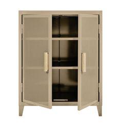 102x80x40 Vestiaire bas Perforé Storage - 2 doors by Tolix