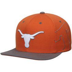 9db53cfe5f5 Men s New Era Texas Orange Texas Longhorns Caldwell 9FIFTY Adjustable  Snapback Hat