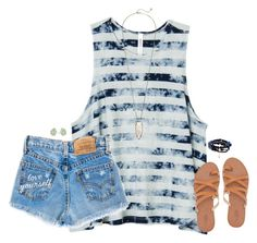 """""""just stop for a minute"""" by kaley-ii ❤ liked on Polyvore featuring RVCA, Kendra Scott, Charlotte Russe and Good Charma"""