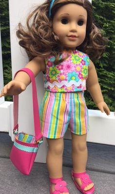 Fits 18 Dolls such as American Girl This fun summer