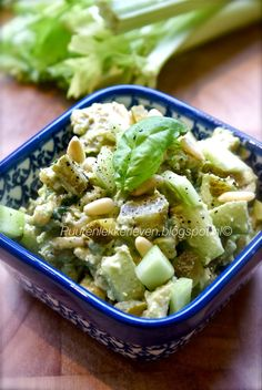 Puur & Lekker leven volgens Mandy: advocado kip salade