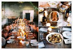 How to Save Money on Food at your Wedding | Family Style Meal
