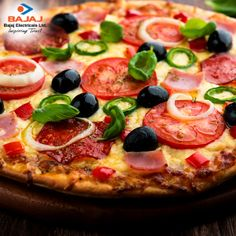 Fall in love with Pizzas, again and again and again…#Bajaj #OTG