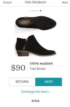 Could use some black booties, my tall Steve Madden boots from a previous  stitch fit well.