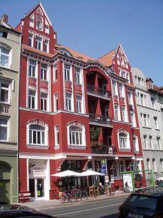 HANNOVER Linden Lindener Marktplatz 2, Ecke Falkenstraße