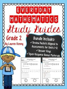 math worksheet : everyday math grade 2 study guides units 1 12 4th edition  : Everyday Math 2nd Grade Worksheets