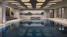 Enjoy the pools at Four Seasons Hotel Seoul, including the indoor lap pool, kids plunge pool, and vitality pool with heated water for relaxation.