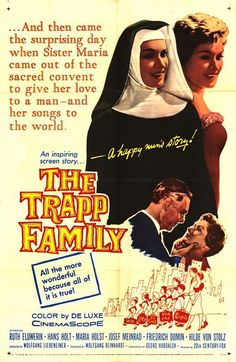 Rare film & TV classics on DVD!: The Trapp Family (1956) 1st film based on Maria Von Trapp The Sound of Music DVD