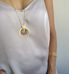 New  Mod Formica Necklace Long Necklace par LuluMayJewelry sur Etsy