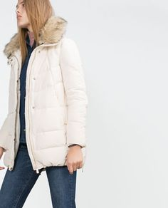 Image 3 of QUILTED ANORAK from Zara