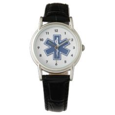 EMT EMS Paramedic Personalized Watches