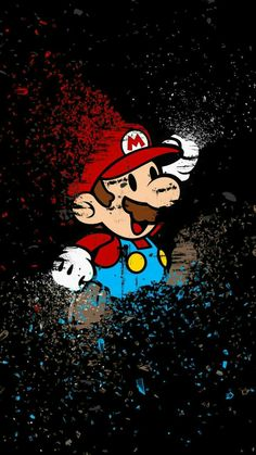 #piorapata Cartoon Wallpaper, Apple Wallpaper, Mobile Wallpaper, Wallpaper Backgrounds, Wallpapers Android, Dope Wallpapers, Gaming Wallpapers, Super Mario Kunst, Super Mario Art
