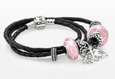 Remember your loved ones and the moments of strength #PANDORAbracelet for the woman who struggle and win - ribbon of hope charm in the battle against breast cancer $35