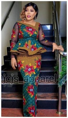 African Dresses For Kids, Latest African Fashion Dresses, African Dresses For Women, African Print Fashion, African Attire, Ankara Styles For Women, Africa Fashion, Ankara Rock, South African Traditional Dresses