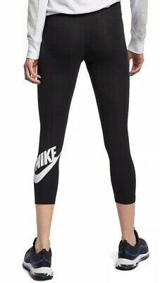 NWT NIKE Club Futura Crop Legging Pants