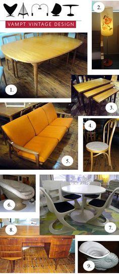 Vampt Vintage Design: Mid-Century Modern Furniture & Decor Specialists – Sale Store Open Now