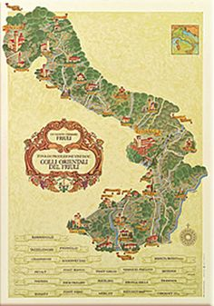 Map: Colli Orientali del Friuli