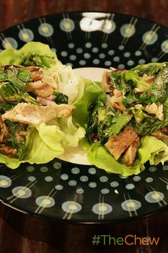 Grilled chicken will never be the same after you bite into this tasty Grilled Chicken Lettuce Cups with Fresh Herbs & Chiles dish!