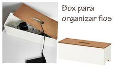 Faça você mesmo: Organizando fios