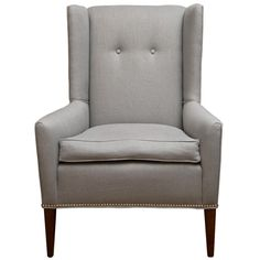 reading chair? 1stdibs | Modern Wing Chair