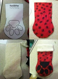 DIY Pet Stocking