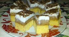 Dupla karamellás sütemény Krispie Treats, Rice Krispies, Tiramisu, French Toast, Cheesecake, Cooking Recipes, Breakfast, Ethnic Recipes, Food