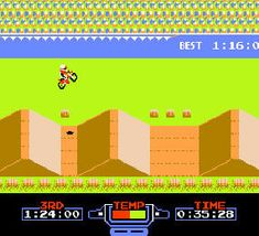 Excite Bike for the Nintendo!!! I was ADDICTED!