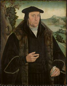 Cornelis Aerentsz van der Dussen (1481-1556). Secretaris van Delft sedert 1536