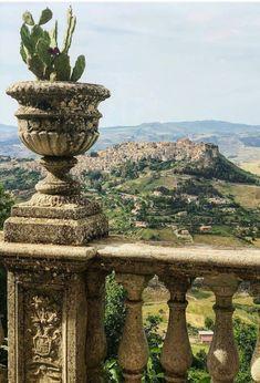Panorama di Calascibetta