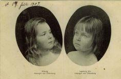 Herzoginnen Altburg und Ingeborg von Oldenburg Oldenburg, Grand Duke, Herzog, Vintage Photographs, Alter, Royalty, German, Photo And Video, History