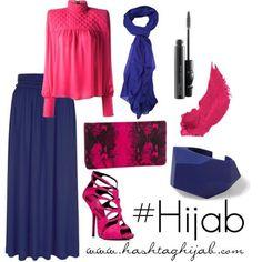 Hijab Fashion 2016/2017: Hashtag Hijab Outfit #7  Hijab Fashion 2016/2017: Sélection de looks tendances spécial voilées Look Descreption Hashtag Hijab Outfit #7