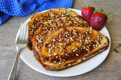 praline pecan french toast- sounds maybe a little too decadent for me, but then again maybe not......