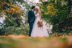 A Yorkshire barn wedding in the brightest shades of Autumn. Photography by Paul Santos.