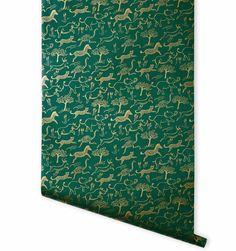 Safari (Hunter) Metallic Screen Printed