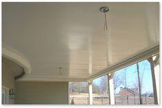 ceiling under deck
