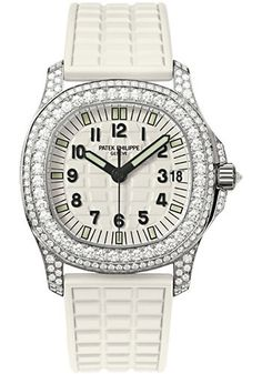 Patek Philippe Watches - Aquanaut Ladies White Gold - Style No: 5069G-011
