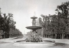 Wrangelbrunnen, Berlin 1879 - Kemperplatz –