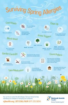 Spring is full of wonderful sights, sounds and smells. Home Remedies For Allergies, Sinus Allergies, Allergy Remedies, Pollen Allergies, Spring Allergies, Seasonal Allergies, Spring Allergy Symptoms, Asthma Relief, Allergies