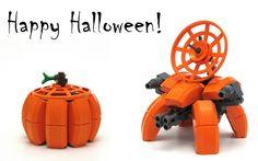 Lego Pumpkinbot