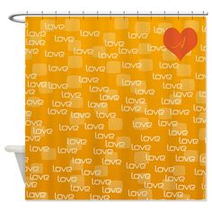 Custom Cool Love Text Pattern Shower Curtain on http://www.cafepress.co.uk/+custom_cool_love_text_pattern_shower_curtain,1473235325