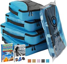 Packing Cubes Value Set for Travel - 4 Organizers (BLUE) bago http://www.amazon.com/dp/B00FTUMHCA/ref=cm_sw_r_pi_dp_ba6yvb05YDD8E