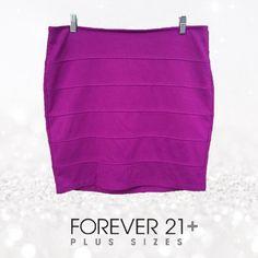 Skirt Bundle! 3 Forever 21 Plus bandage skirts. Forever 21 Skirts
