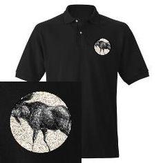 Moose (Front) Ash Grey T-Shirt by w2arts