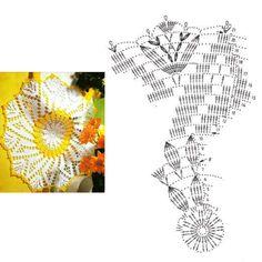 Crochet Doilies, Floral, Decor, Rugs, Crochet Tablecloth, Crochet Table Runner, Crochet Batwing Tops, Dots, Towels